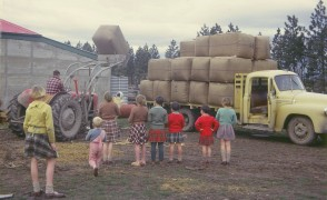 Farm Succession Planning truck loading image